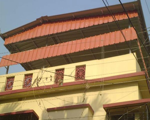 Rooftop Shed Manufacturer Or Fabricator In Kolkata For Welcoming Exterior India